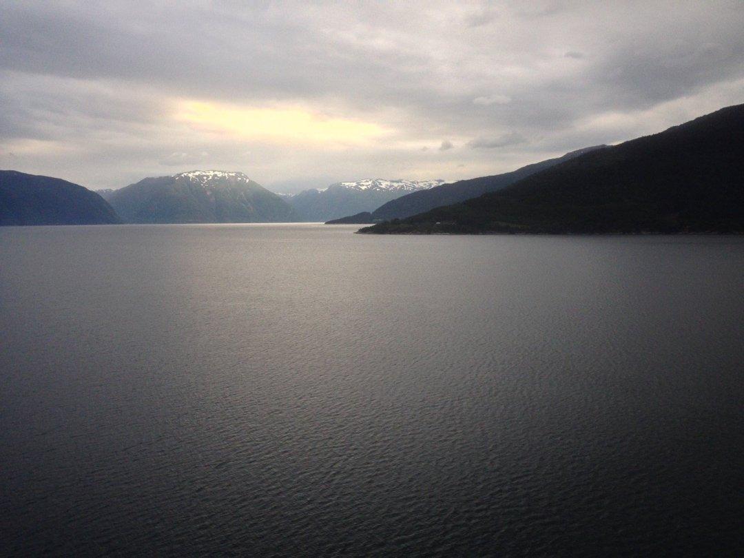 Sognefjorden junto a Vikøyri
