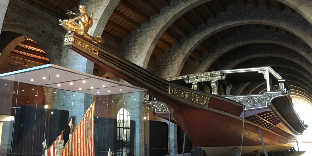 El Museo Marítimo de Barcelona
