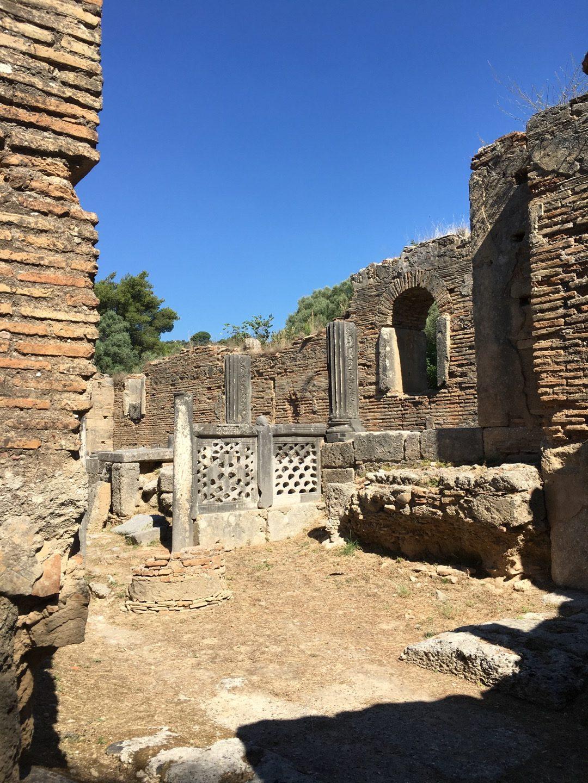Taller de Fidias, en Olimpia