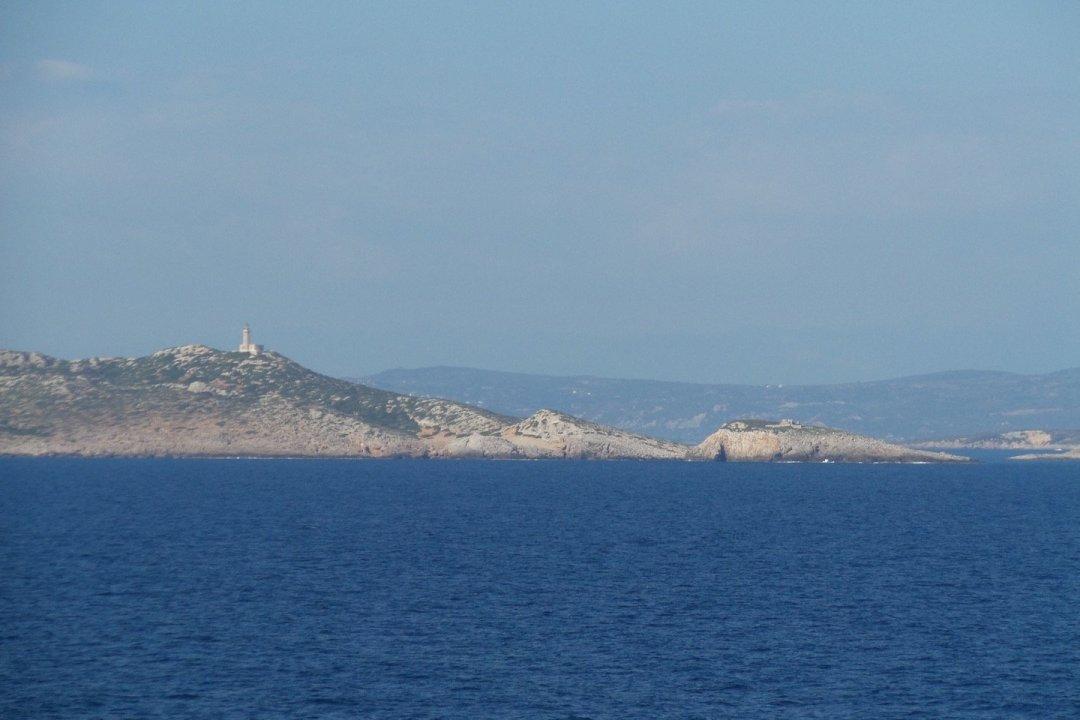 Faro de la isla de Sapientza
