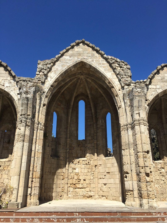 Abside de Santa María del Burgo