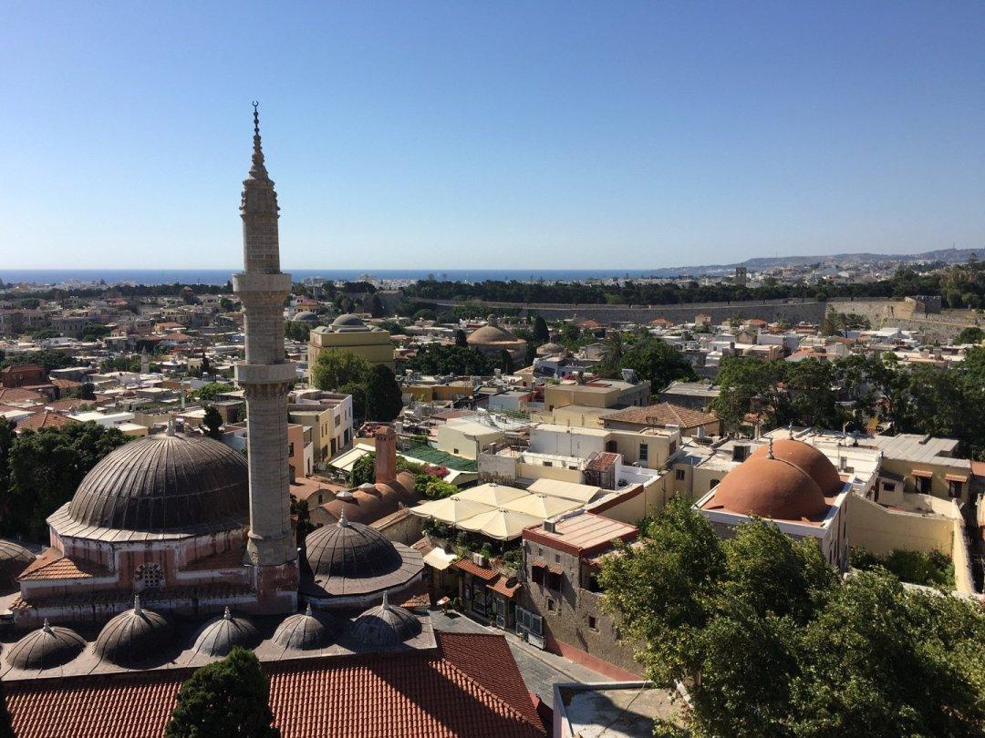 Minarete de la Mezquita de Suleyman