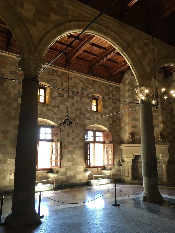 Planta superior del palacio