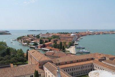 Giudecca desde el campanile de San Giorgio Maggiore