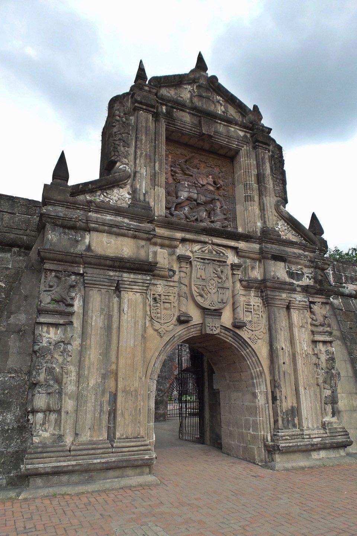 Puerta del Fuerte de Santiago
