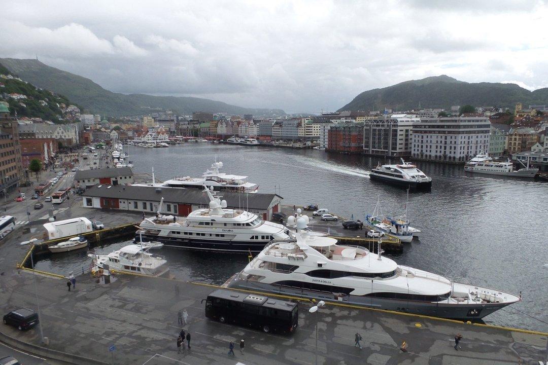 Bergen Havn desde Rosenkrantz