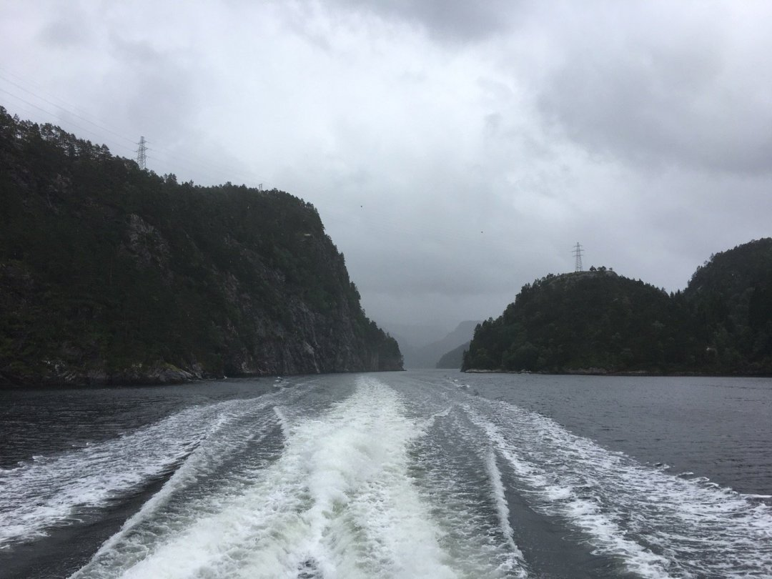Canal entre Paddøy y Hokøyna