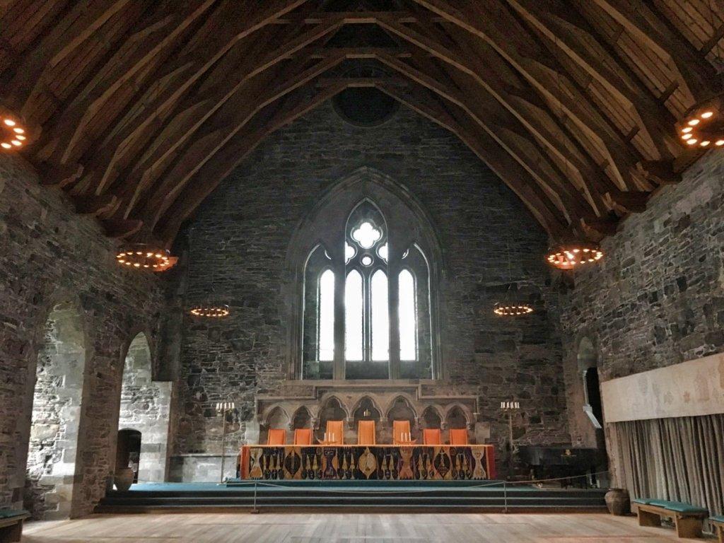 Interior del Salón deHaakon