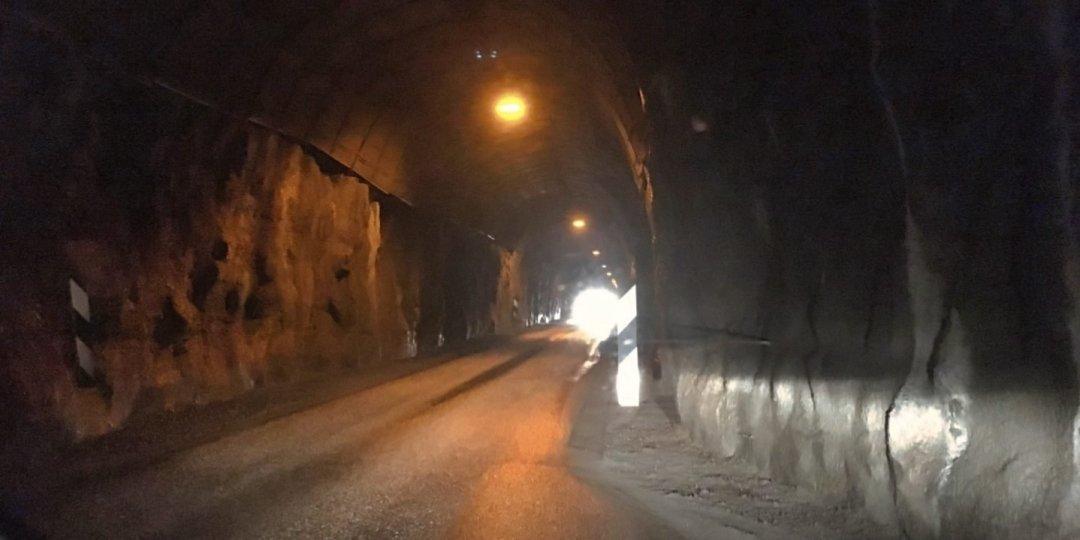Esperando en el túnel deVestfjarðagöng