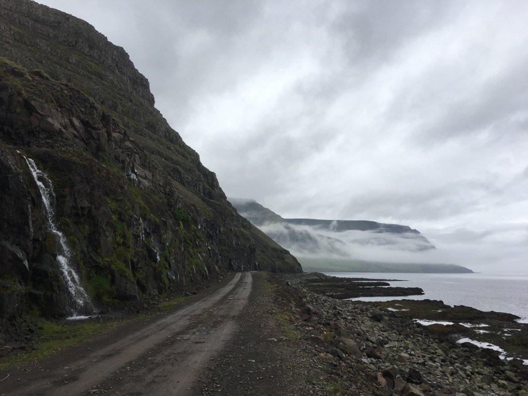 Pista en Suðureyri