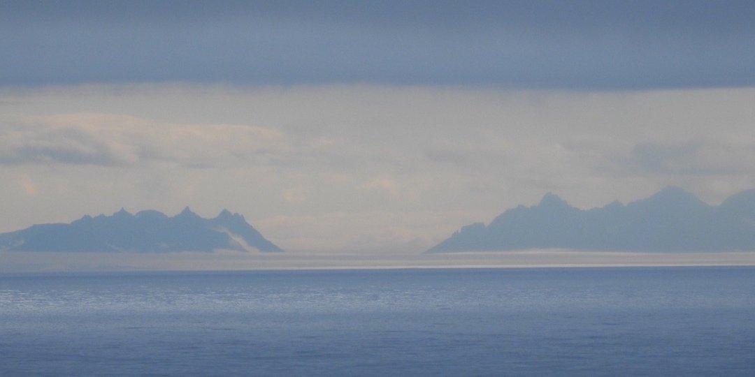 Groenlandia en el horizonte