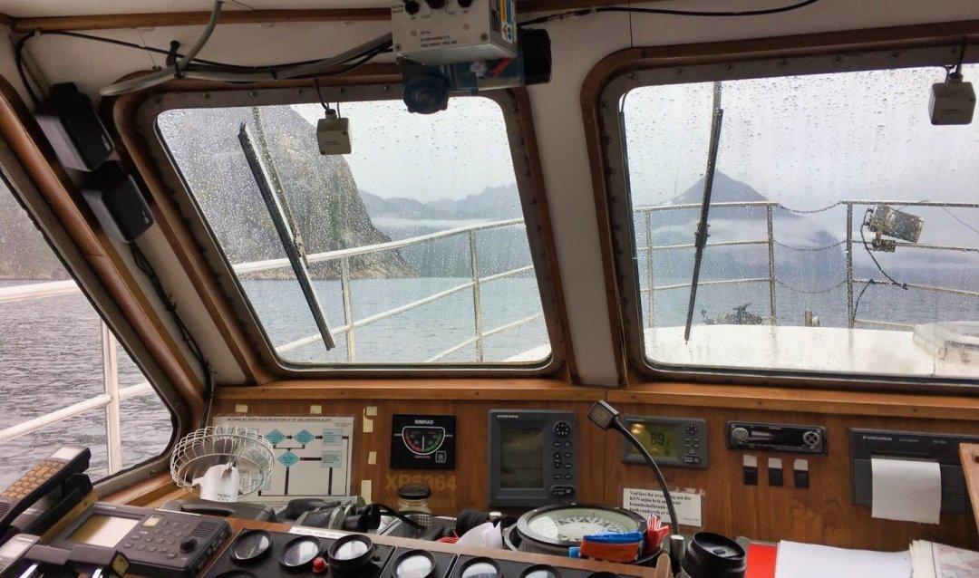 Navegando hacia Hvalsey