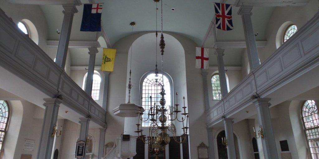 Interior de Old North Church