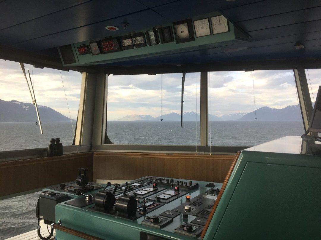 Puente de mando del MS Rotterdam