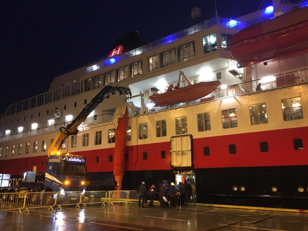 Embarcando en Bergen