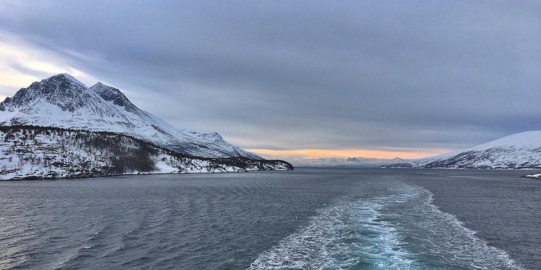 Atravesando el Straumsfjorden