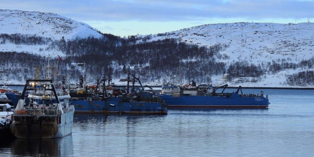 Barcos de pesca en Kirkenes