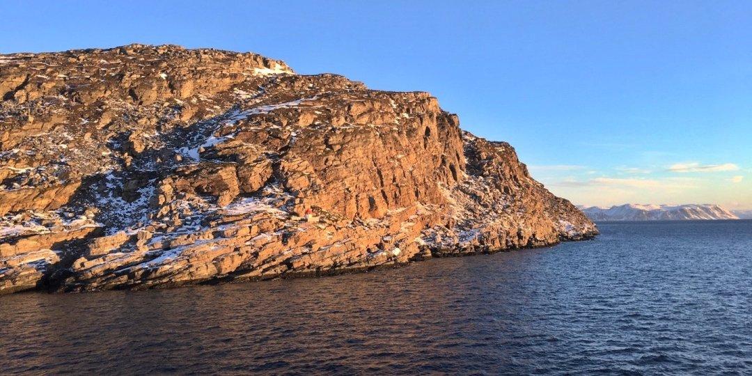 Costa meridional de Måsøya