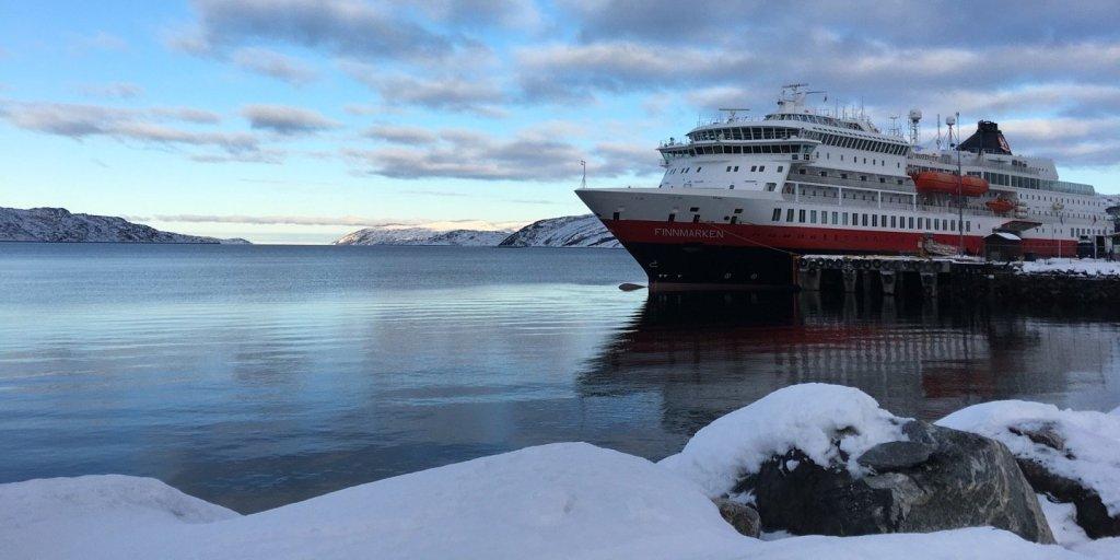 El Finnmarken en Kirkenes