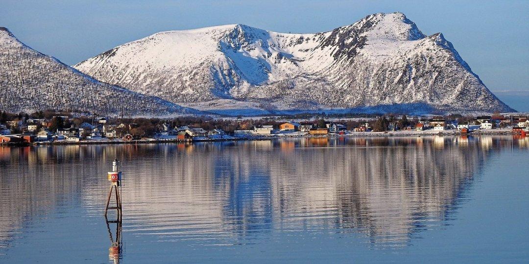 Llegando a Risøyhamn