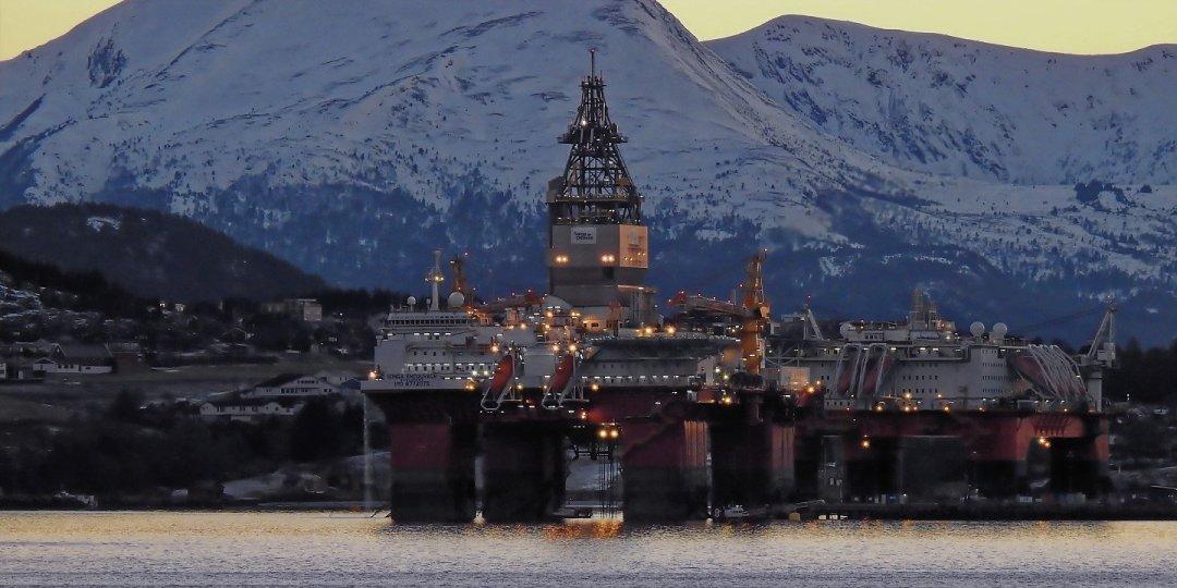 Plataformas petrolíferas en Averøy