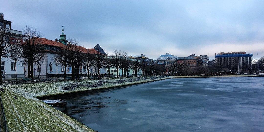 Byparken en invierno