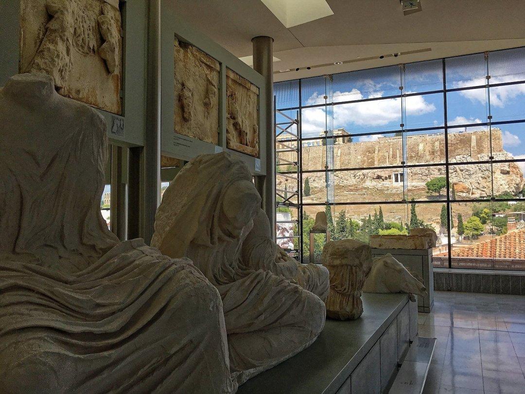 La Acrópolis desde el museo