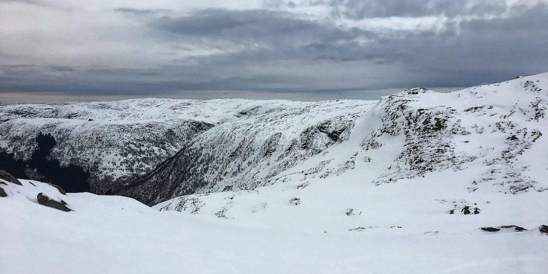 Vista hacia el nordeste del Ulriken