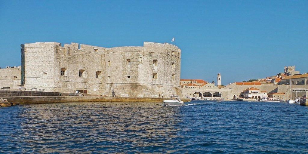 Llegando a Dubrovnik