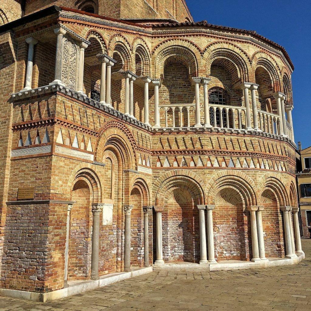 Ábside de Santa María y San Donato
