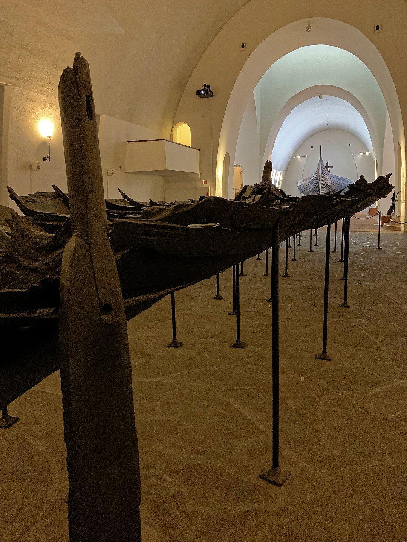 Restos del barco de Tune