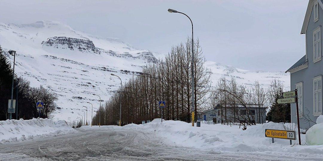 Carretera de Egilsstaðir