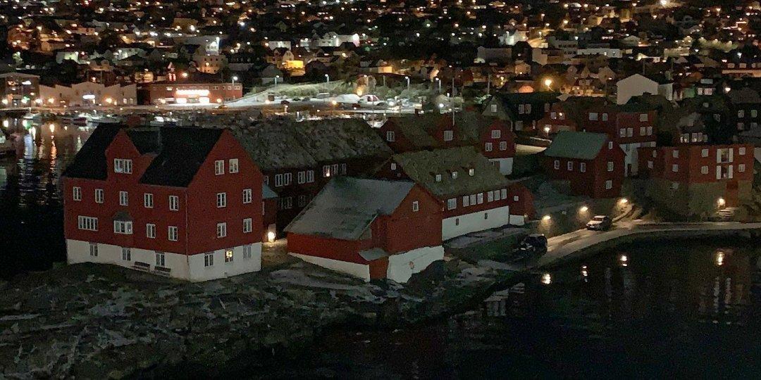 Llegando a Tórshavn