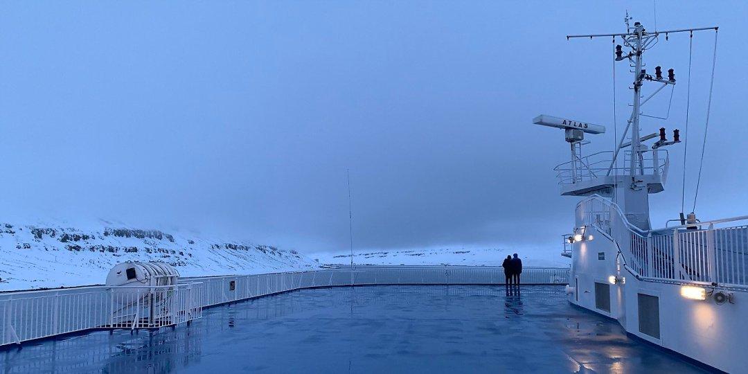 Navegando por el Seyðisfjörður