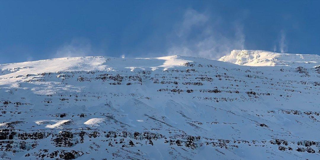 Remolinos sobre las cumbres