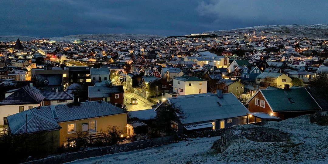 Tórshavn desde Kongaminnið
