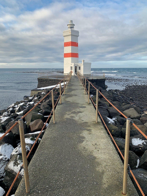Antiguo faro de Garður