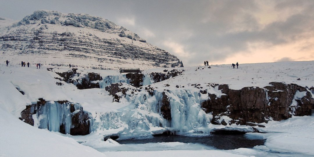 Fotografiando Kirkjufellsfoss
