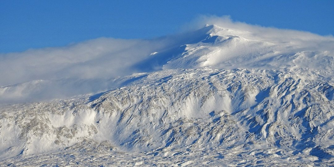 Nubes de ventisca sobre Snæfellsjökull 3