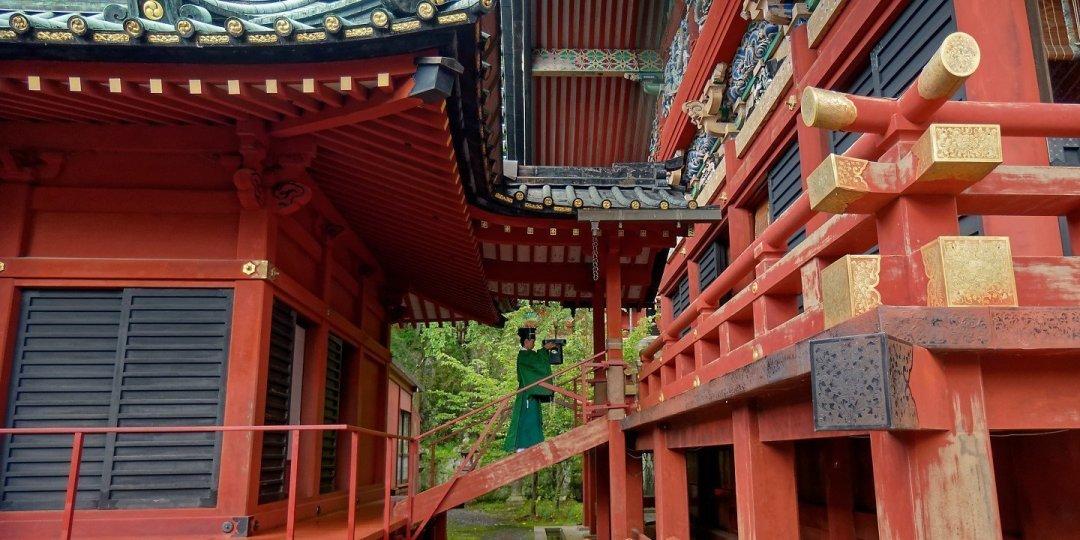 Ceremonia en Shizuoka Sengen