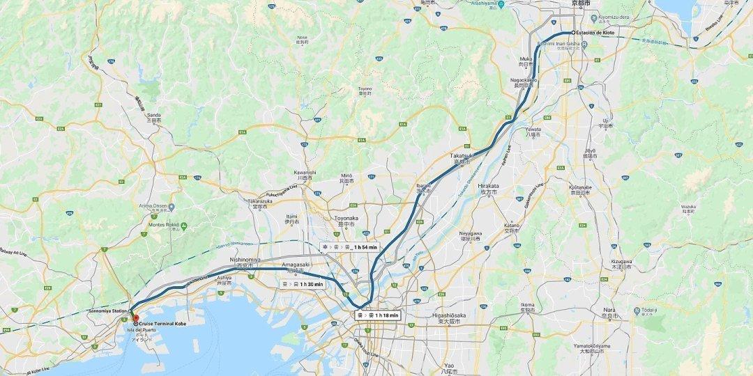 De Kobe a Kioto