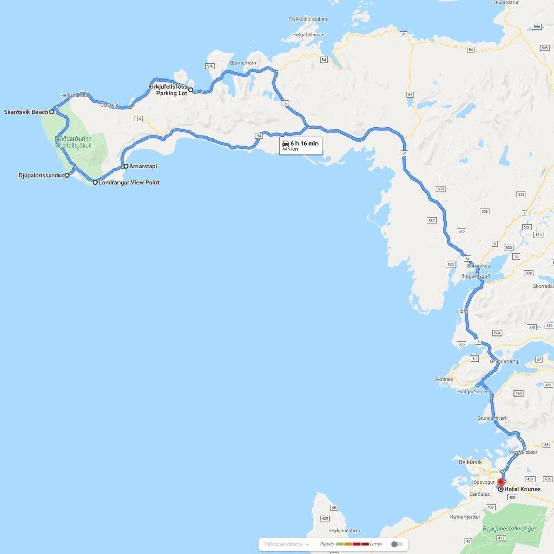 Snæfellsnes desde Reikiavik