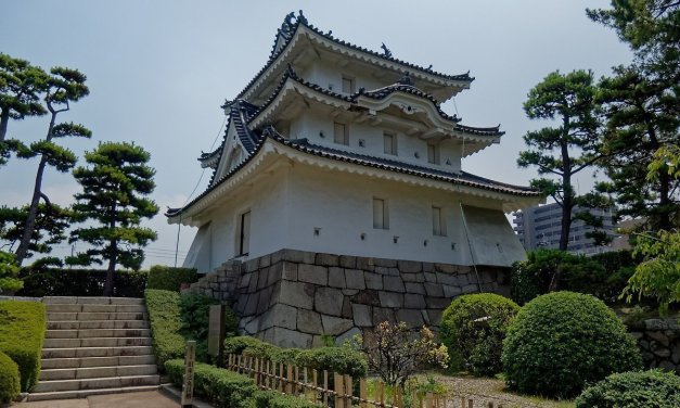 El castillo de Takamatsu