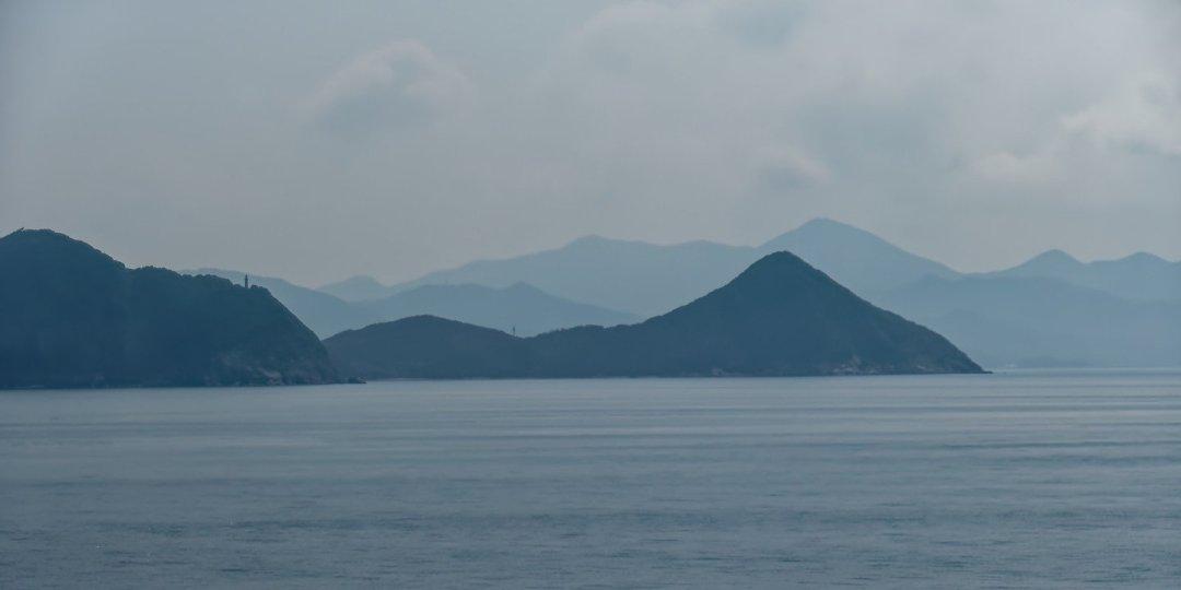 Futaoijima y costa suroeste de Honshū
