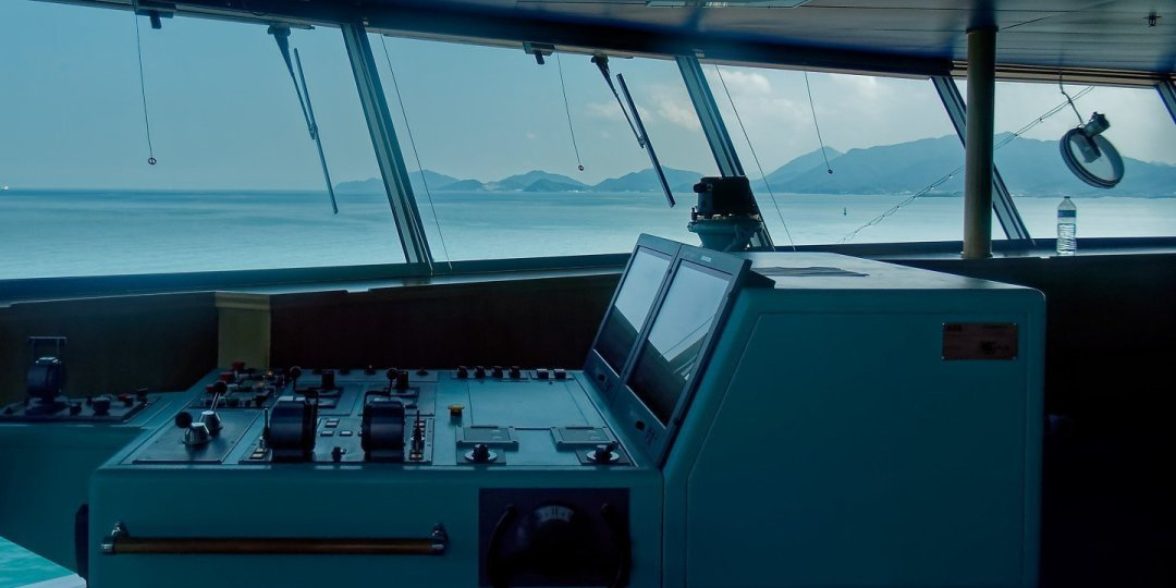 Saliendo del estrecho de Kanmon