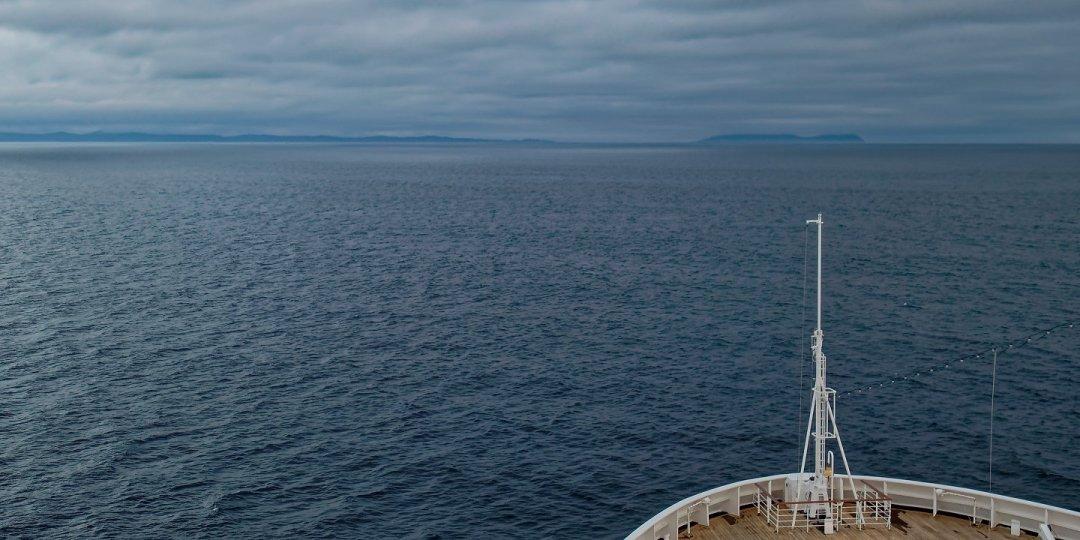 Frente a la costa de Primorie
