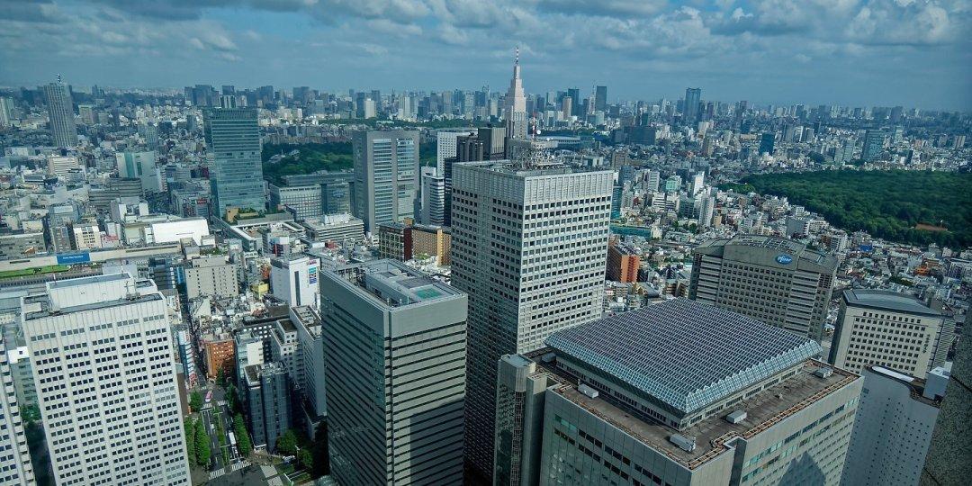 Tokio desde el edificio del Gobierno Metropolitano