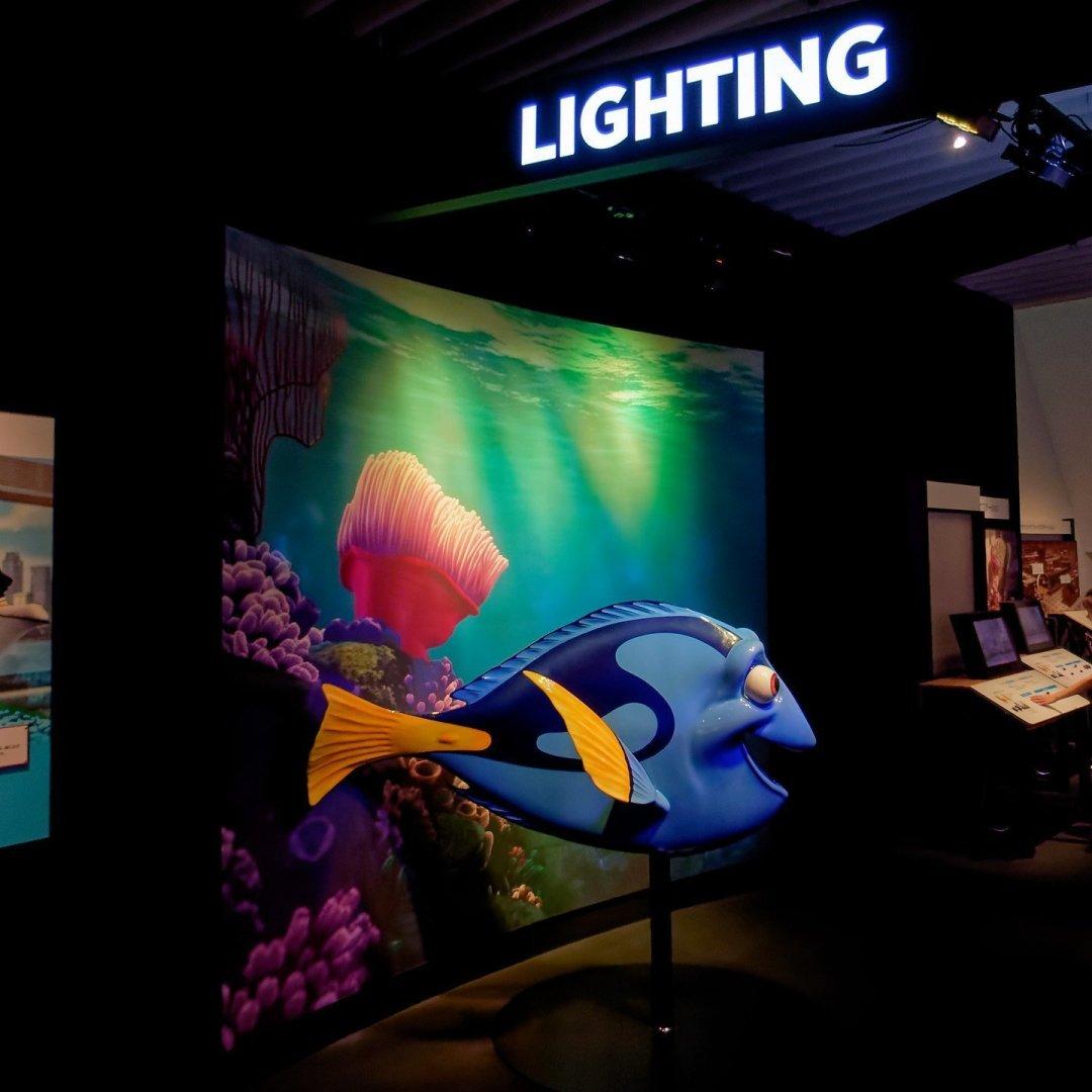 Exhibición de Pixar