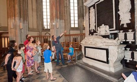 Avondrondleiding voor kinderen in Domkerk, Utrecht