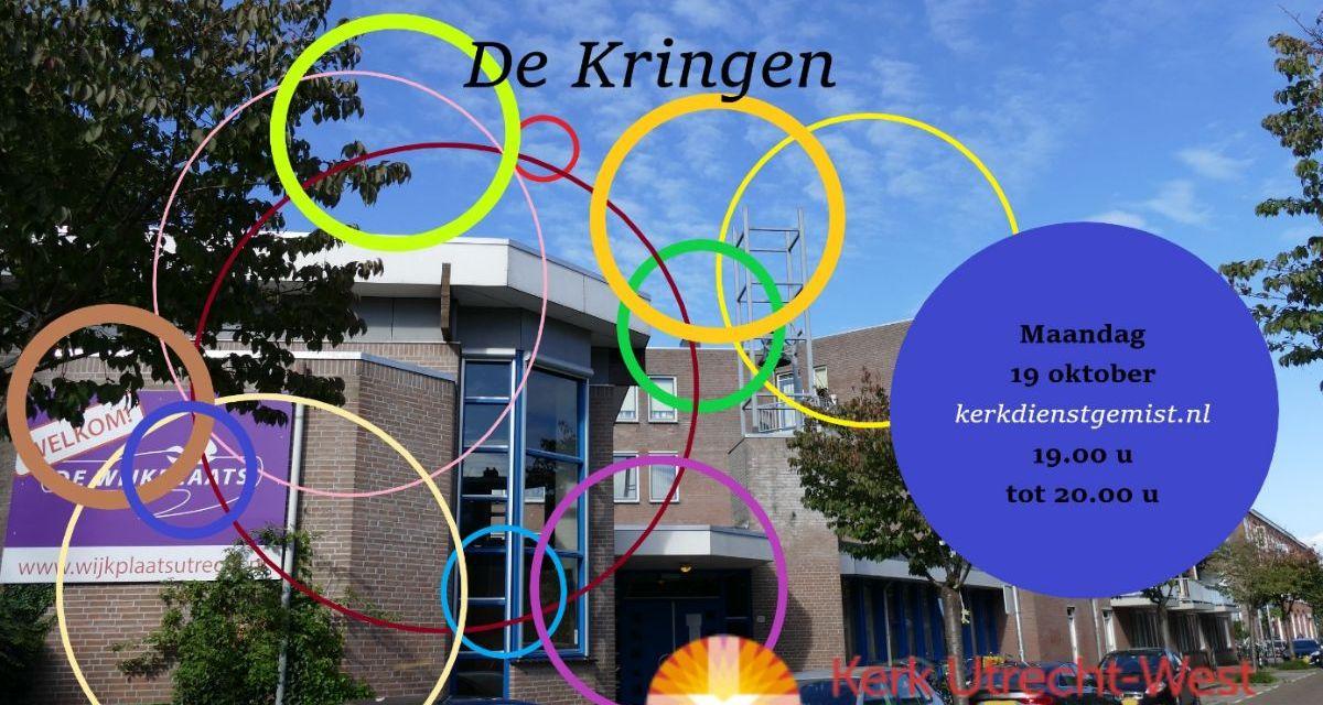 Opening kringseizoen met online talkshow (Utrecht-West, 19 okt.)